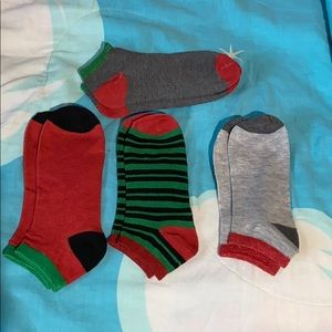 Christmas colored socks